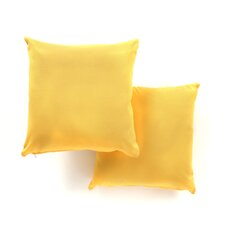 18-Inch Solid Throw Pillows (Set of 2)