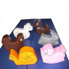 6 Piece Farm Animal Set
