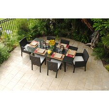 <strong>Caluco LLC</strong> Maxime 7 Piece Dining Set