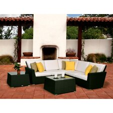 <strong>Caluco LLC</strong> Maxime 7 Piece Seating Group