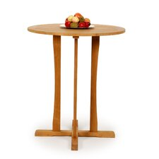 <strong>Caluco LLC</strong> Teak Round Bar Table