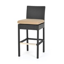 "<strong>Caluco LLC</strong> Maxime 28"" Bar Stools with Cushion (Set of 2)"