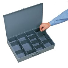 Steel Adjustable Compartment Small Scoop Box
