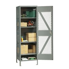 14 Gauge Steel Visible Storage Locker