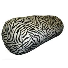 Zebra Print Bolster Pillow