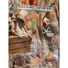 Coastal Beach Blanket Babylon Graphic Art on Canvas