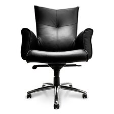Mahari Leather Executive Chair with Arms