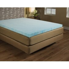 "3"" Gel Memory Foam Mattress Topper"