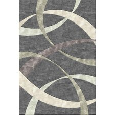Indian Summer Carnaby St Slate Tufted Rug