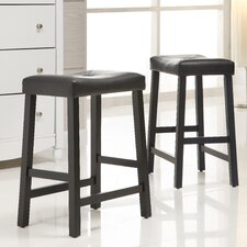 "Giavanna 24"" Bar Stool (Set of 2)"