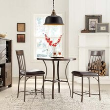Shayne 3 Piece Counter Height Dining Set