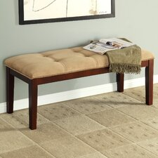 Joselyn Microsuede Bench
