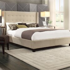 Mackenna Wingback Bed