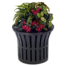 Rendezvous Round Pot Planter with Convex Top