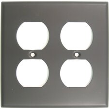 Double Recep Switch Plate