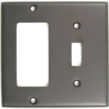 Double Rocker Switch Plate