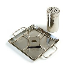 Beer Can and Chicken Roaster with Drip Pan