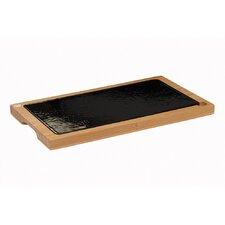 The Lava Range 2 Piece Glazed Platter Set