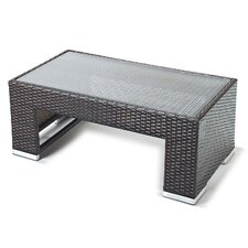 Luxe Rattan Coffee Table