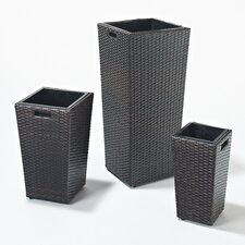 Luxe 3 Piece Pot Planter Set