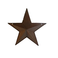 "18"" Natural Tin Star Pocket"