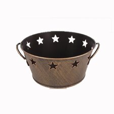 Vintage Tin Star Bowl