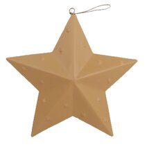 Embossed Star Ornament (Set of 12)