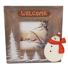 Medium Cabin Snowman Frame
