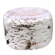Birch Indoor Stump Pouf