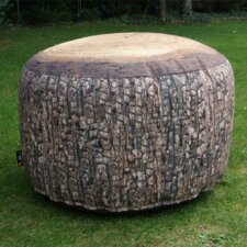 Forest Outdoor Stump Pouf