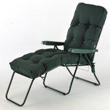 Classic Sun Lounger with Cushion