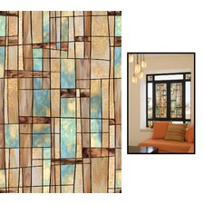 "24"" x 36"" Decorative City Lights Window Film"