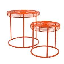 Eontic 2 Piece Nesting Tables
