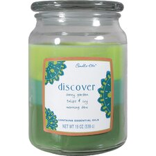 Discover 3 Layer Jar Candle
