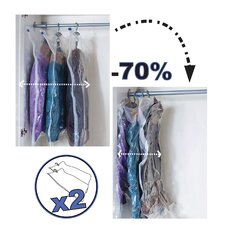 Vacuum Space Bag with Hanger (Pack of 2)