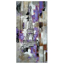 Dreaming Paris Original Painting on Canvas