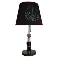 """Yoda Lightsaber 26"""" H Table Lamp with Empire Shade"""
