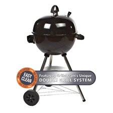 Charcoal Kettle BBQ in Black