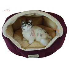 <strong>Armarkat</strong> Cat Bed in Burgundy and Beige