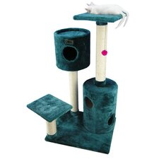 "43"" Classic Cat Tree in Dark Green"