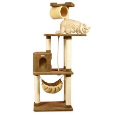 "<strong>Armarkat</strong> 70"" Ultra-Soft Premium Cat Tree in Tan"