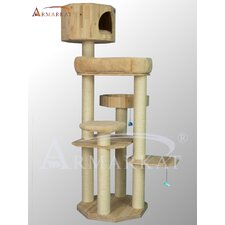 "72"" Solid Wood Cat Tree"