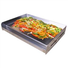<strong>Little Griddle Innovations</strong> Sizzle-Q Universal Stainless Steel BBQ Griddle