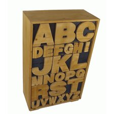 Alphabet Cabinet