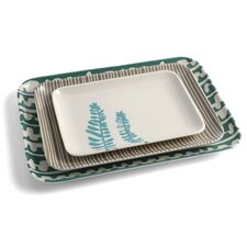 3 Piece Small Serving Trays Set
