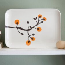 2 Piece Large Serving Trays Set