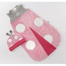 """Snug As a Bug"" Ladybug Snuggle Sack"