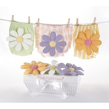 "<strong>Baby Aspen</strong> ""Bunch o' Bloomers"" Three Bloomers for Blooming Bums Gift Set"