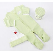 """Sweet Dreamzzz"" A Pint of PJ's Sleep-Time Gift Set in Lime"