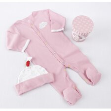 "<strong>Baby Aspen</strong> ""Sweet Dreamzzz"" A Pint of PJ's Sleep-Time Gift Set in Strawberry"